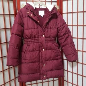 (Girls) Maroon Old Navy Winter Coat